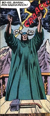 Thoth Amon, from Conan vs. Thor