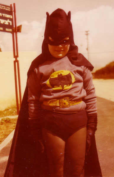 Dotan Dimet in Batman costume, circa 1975