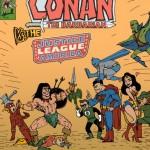 Conan vs the Justice League by Guy Dimet