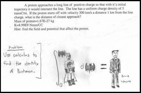 Exam thing