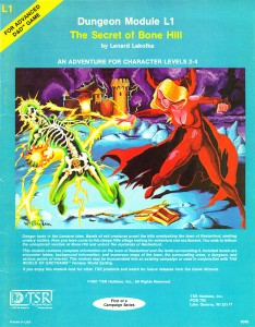 Secret of Bone Hill Cover, by Bill Willingham