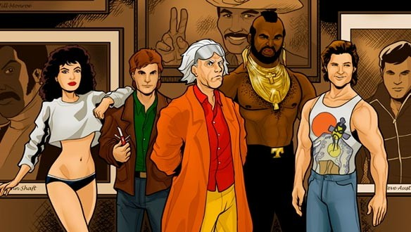 Doctor Emmet Brown and the 1988 League of Extraordinary Gentlemen