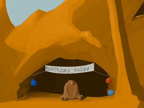 Sad Bear\'s Birthday Party