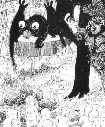 Sidney Sime - They're little girls and boys!