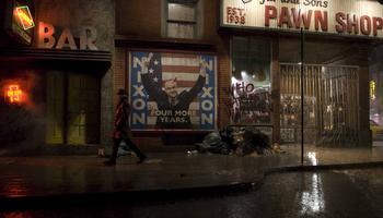 Watchmen Film Set